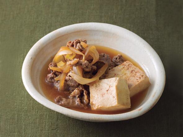 1分で分かる「玉ねぎたっぷり肉豆腐」の作り方 , ねとらぼ