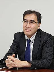 NTTドコモでヘルスケアビジネスを担当する安部氏