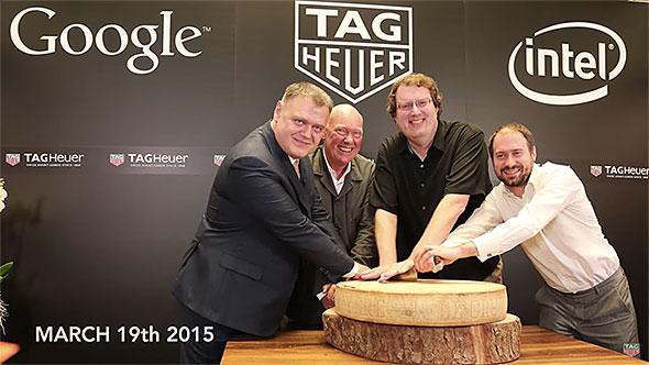 TAG Heuer、Intel、Google