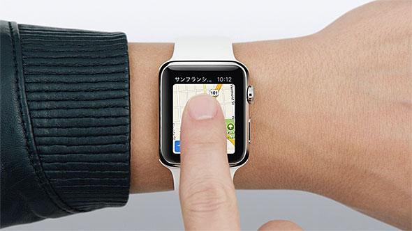 Apple Watchの長押し