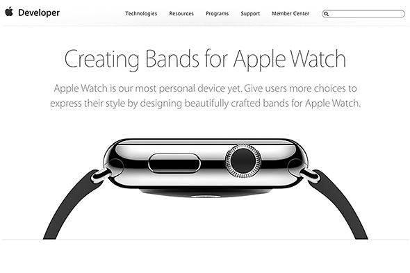 Band Design Guidelines for Apple Watch