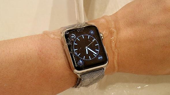 Apple Watchは耐水