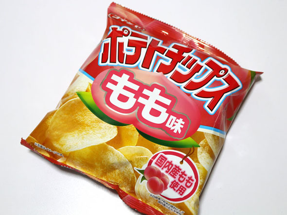 チップス ポテト 桃 の