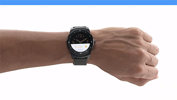 Android Wear Scroll