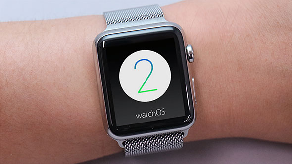 watch OS 2 in Apple Watch