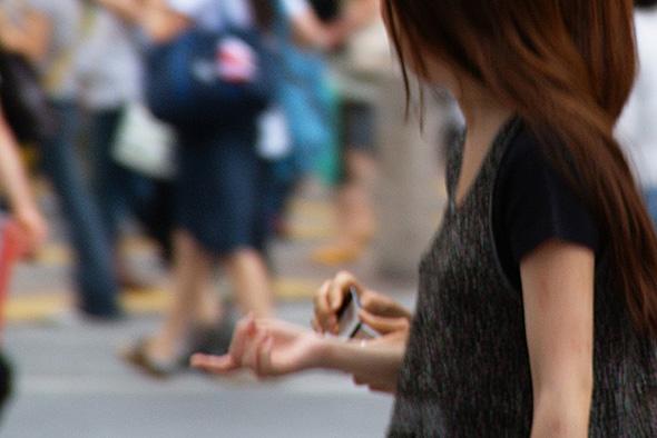 iPhoneで事故が起こりやすいスポット