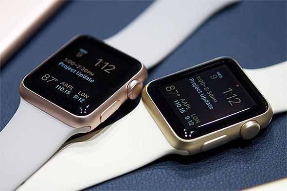 Apple Watch Sport ゴールド、ローズゴールド