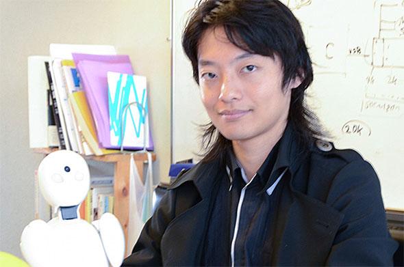 OriHimeと吉藤オリィさん