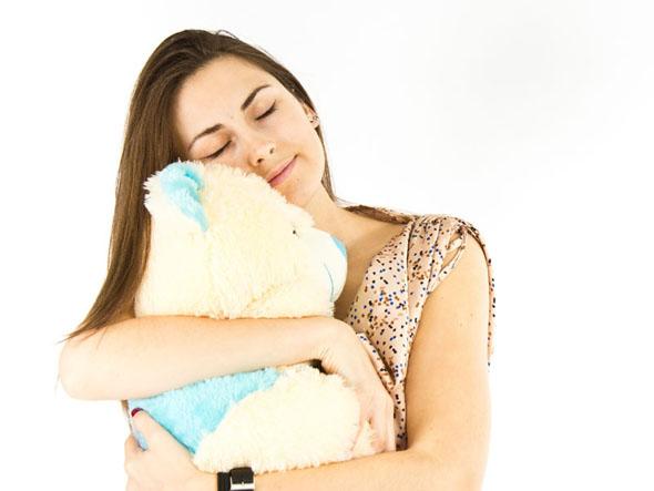 ぬいぐるみと睡眠