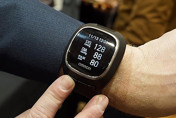 超小型手首式血圧計