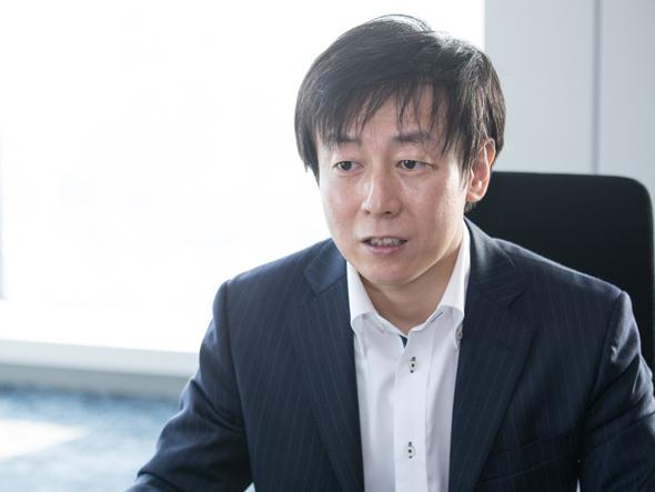 サイボウズ代表取締役社長の青野慶久氏