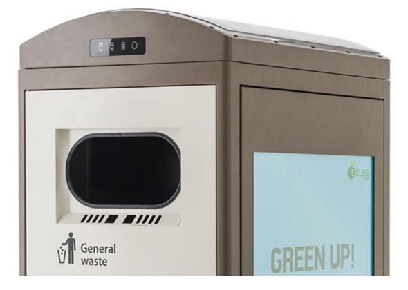 シンガポール ゴミ箱 Clean CUBE