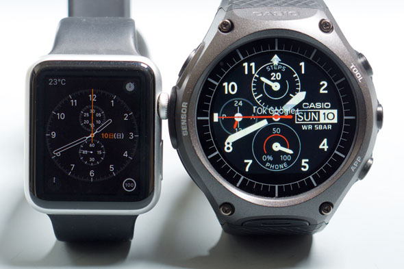 Apple WatchとWSD-F10
