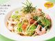 外食で痩せる!:ガストの「大葉と海老の和風サラダうどん」