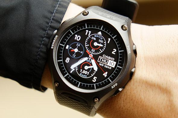 カシオ スマート ウォッチ Smart Outdoor Watch PRO TREK