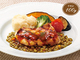 外食で痩せる!:ロイヤルホストの「レンズ豆とチキンのグリル」