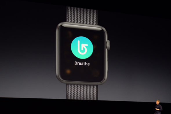 watchOS 3 Breathe