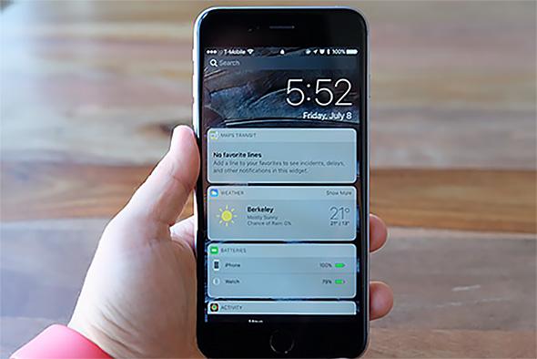 iPhoneとApple Watchが「iOS 10」で連携を深めていく