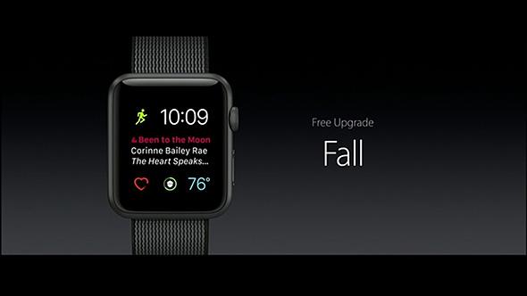 watchOS 3の配信はこの2016年秋の予定