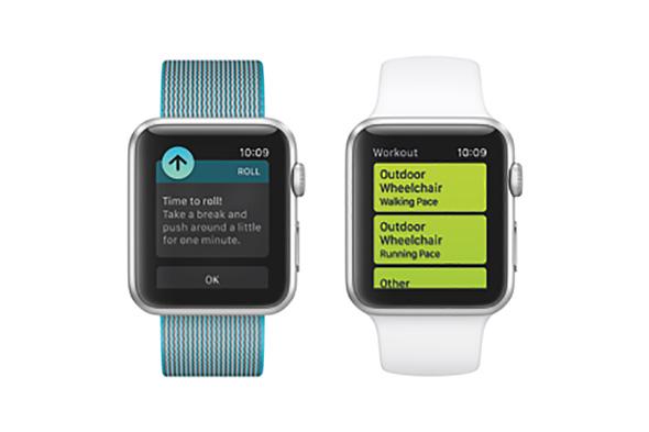 Apple Watchに追加される車いすモード