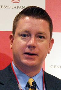 米Genesysで製品マーケティングディレクターを務めるランディ・ブロシェ氏