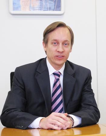 米SAS Institute 上級副社長 ミカエル・ハグストローム氏