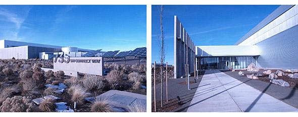 プラインビルデータセンターの外観