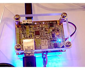 USB PDコントローラー搭載ボードのデモ