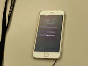 ナースコール用のiPhone