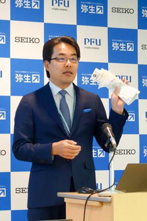 弥生株式会社 代表取締役社長 岡本 浩一郎氏