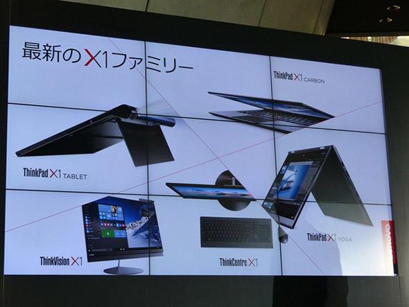 「ThinkPad X1」新製品