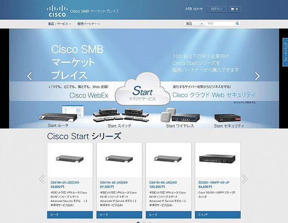 Cisco SMBマーケットプレース