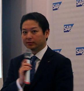 SAPジャパン社長 福田譲氏