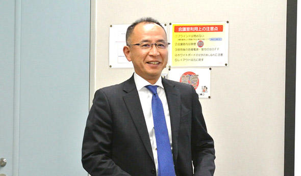 横田聡一氏