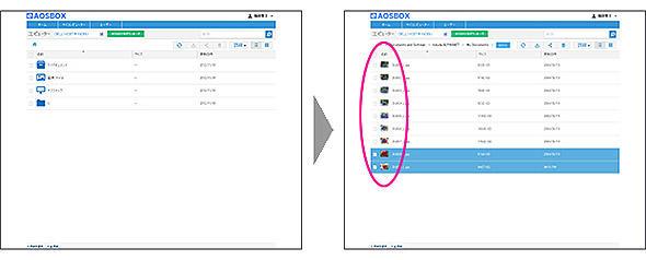 図2 世代管理バックアップ機能の管理画面例