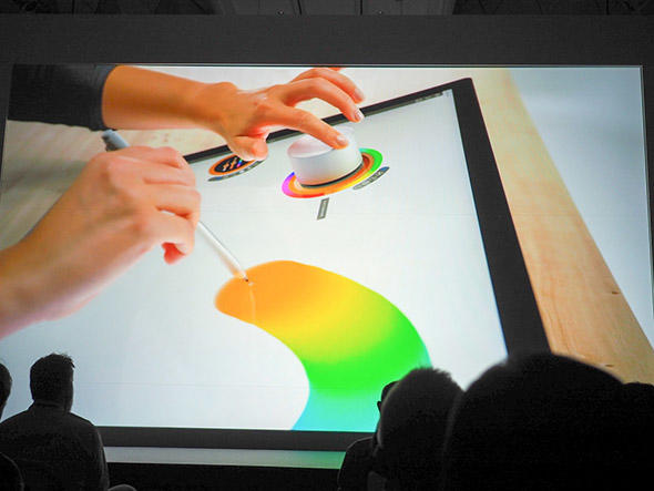 SurfaceペンとSurface Dial
