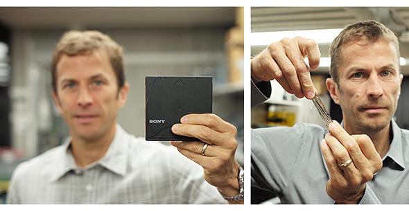 新開発のテープストレージメディア