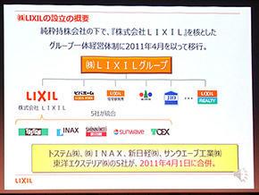 5社が統合したLIXILに加え、グループには国内外の多様な企業を抱える