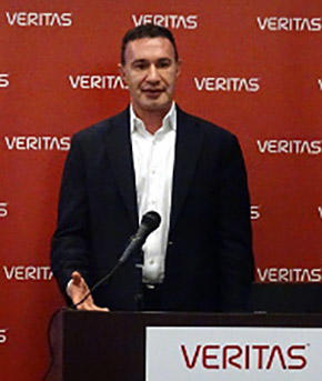 Veritas Technoogies David Noy氏
