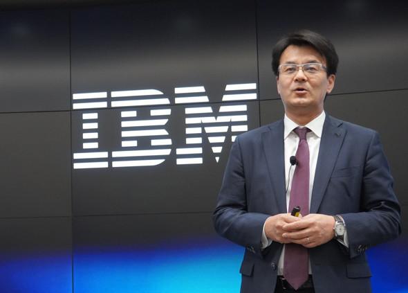 日本IBM社長の山口明夫 氏