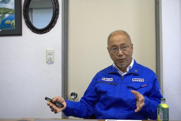 武州工業 林 英夫氏 実際に本気でやってみたらできます。しかもSDGsには取引先の企業にも大きなメリットもあります」(林氏)