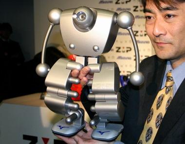 まんまラピュタのロボット兵!