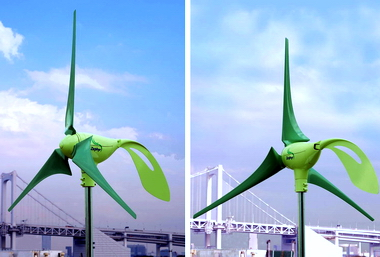 NAVER まとめ省力風力発電 簡易発電 小型発電 風レンズ風車