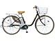 レトロ感覚の電動自転車、松下が限定販売
