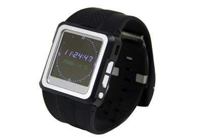 動画も再生できる腕時計――サンコー「MP4 WATCH」