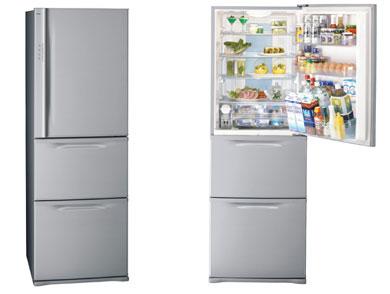 幅60センチ×奥行き64センチのスリム冷蔵庫、東芝から - ITmedia NEWS