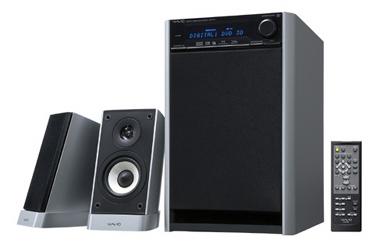 オンキヨー独自の音場 オンキヨー、5.1chにも拡張できるデスクトップ用