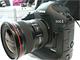 キヤノン、10メガCMOS搭載のプロ向けデジ一眼「EOS-1D Mark III」