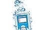 トリニティ、水深3メートルでもiPod nanoが利用できる防水ケース