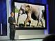 2008 International CES:象も原寸大? パナソニックが世界最大150型PDPを披露